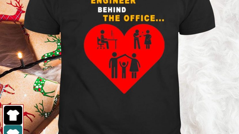 Network engineer behind the office shirt